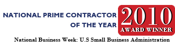 2010 National Prime Contractor of the Year